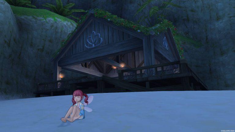 ちょっとした小屋もあります